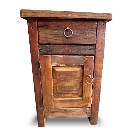 arcadian barnwood nightstand mexican furniture rustic pine unfinished image g