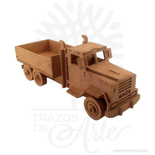 Hermosos Camión Mack en MDF, se puede entregar armado o como Rompecabezas 3D, según especificación del cliente,útil como juguete o decoración. Si se le daña alguna pieza en el futuro, le enviaremos la sección dañada previo pago de la misma. Este es un maravilloso regalo, suvenir; empresarial o para amigos y familiares. Si usted está buscando un regalo de valor duradero, estos juguetes de madera son una excelente elección. Utilizamos mdf (madera del futuro) de alta calidad y acabados de…