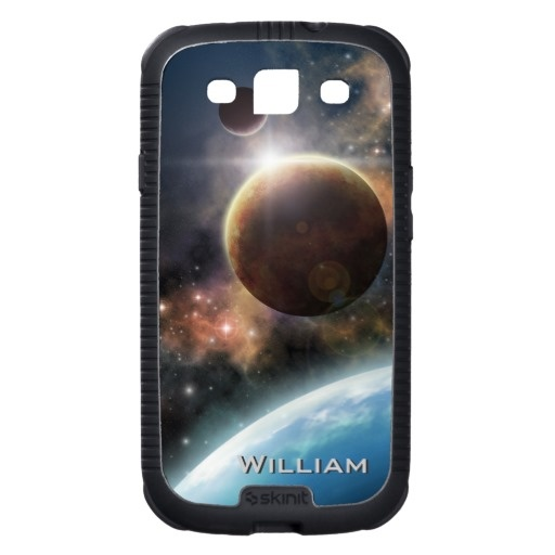 Welcome to the Space personalizable Skinit Cargo Galaxy SIII Case $55.55 #samsung #galaxy #s3 #space #astronomy #cosmology #nebula #universe #stars #cases