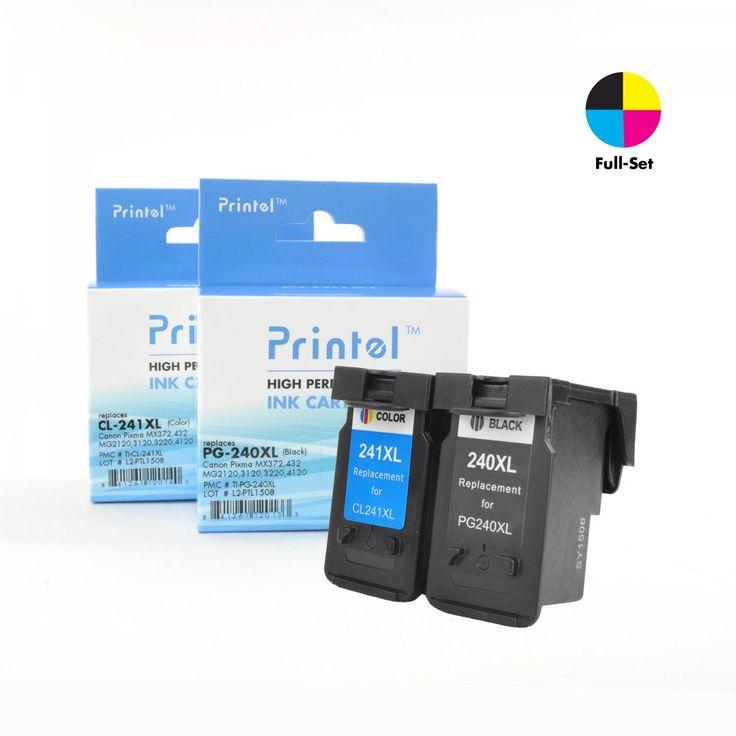 Canon PG 240XL CL 241XL 2 Pack Reset Ink CartridgePrinter