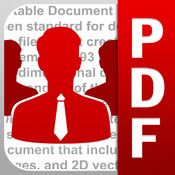 •Read PDF Documents on the iPad  PDF Expert Enterprise opens huge files, does full text search, handles PDF links and outlines. It also opens password-protected documents and extracts text from the PDFs. Office formats can be opened as well.