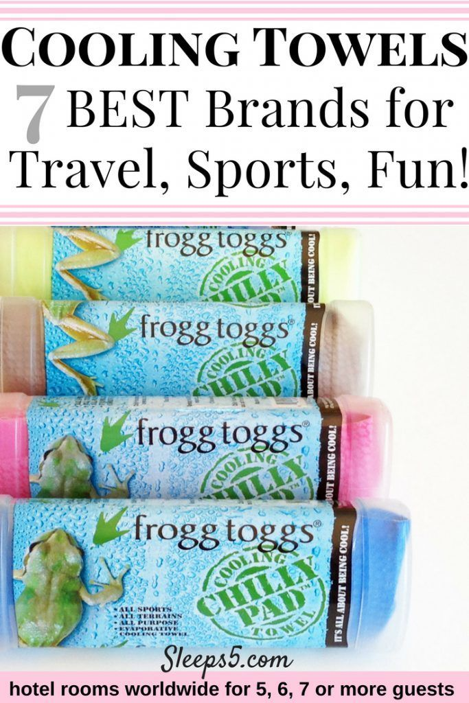 Our Guide To 7 Of The Best Cooling Towels For Travel Sports Fun Cooling Towels Family Vacation Travel Hotels For Kids