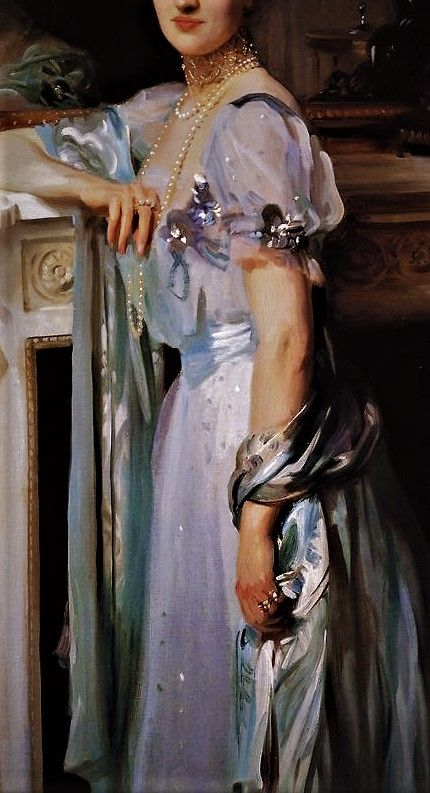 Portrait of Mrs Louis Raphael  by John Singer Sargent