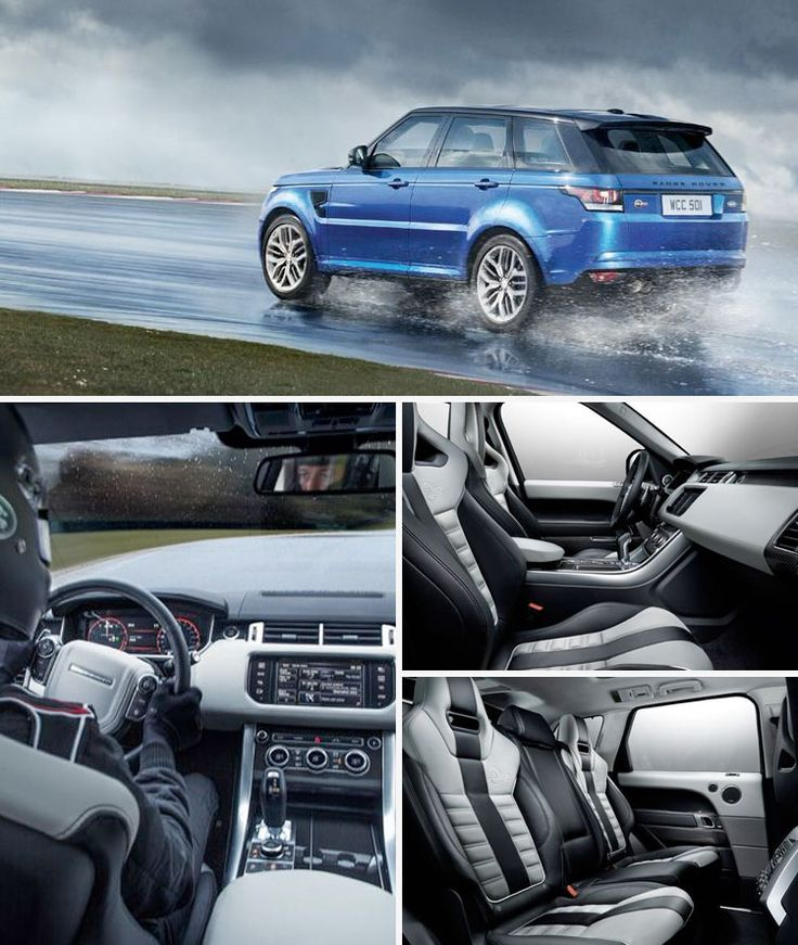 Range Rover Sport SVR: A Super Sports SUV Dressed as An Off-Road -- Range Rover Sport SVR: un superdeportivo disfrazado de todoterreno.