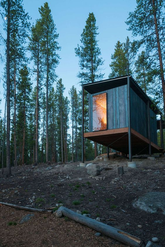 Colorado Outward Bound School Micro Cabins,  Leadville, CO, United States -  Colorado Building Workshop / University of Colorado Denver