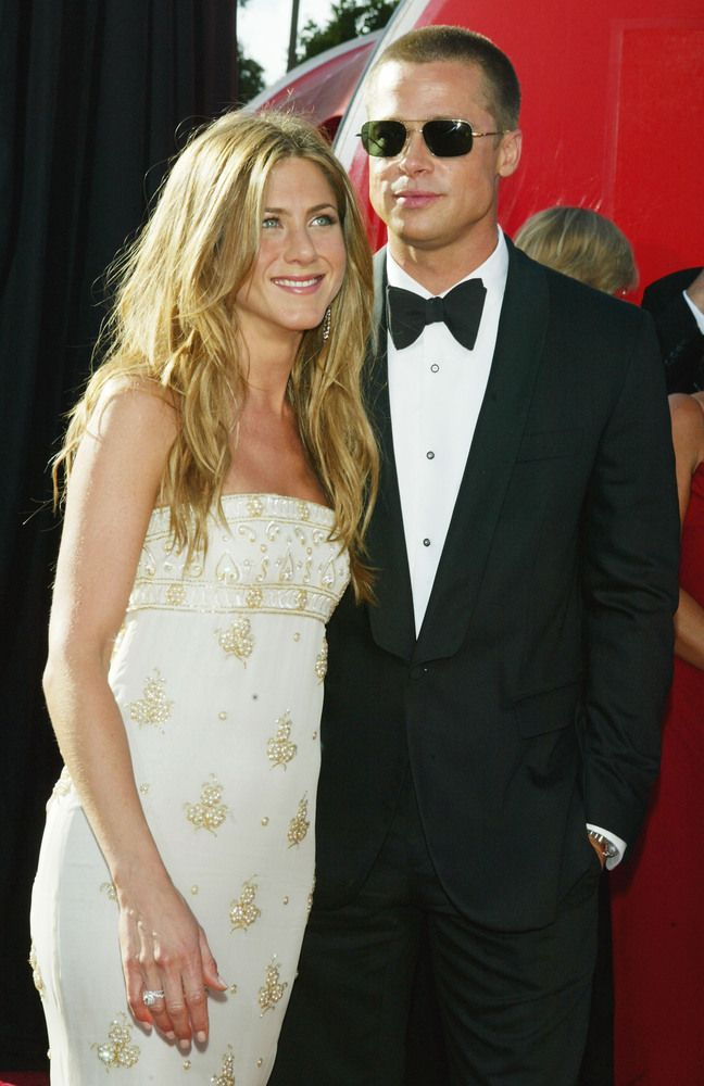 """Brad Pitt & Jennifer Aniston  2000-2005    When all you do is sit around and smoke weed. """"I spent the '90s trying to hide out, trying to duck the full celebrity cacophony. I started to get sick of myself sitting on a couch, holding a joint, hiding out,"""" Pitt told Parade magazine in Nov. 11. """"I think that my marriage [to Aniston] had something to do with it. Trying to pretend the marriage was something that it wasn't."""""""