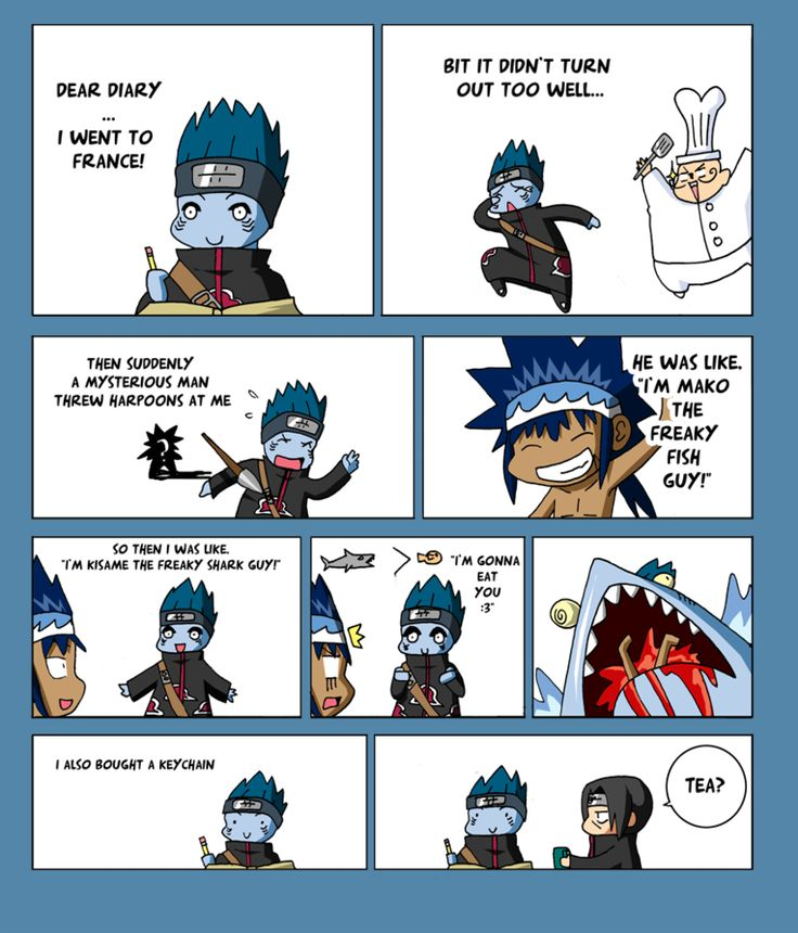 Kisame meets Mako by VooDooDollMaster on DeviantArt