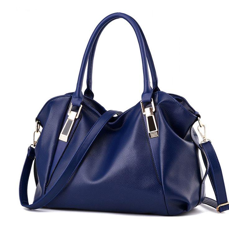 Women Handbag Female PU Leather Bags Handbags Ladies Portable Shoulder Bag Office Ladies Hobos Bag Totes