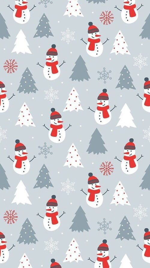 Fox and Spice: 48 Christmas & Winter Phone Wallpapers