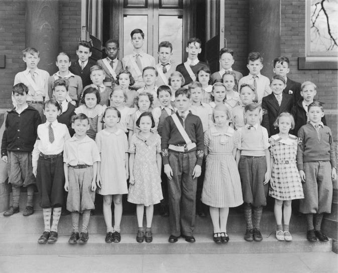 U S Schoolwear Chronology United States 20th Century 1930s School Trends Poor Children 1930s