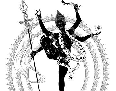 "Check out new work on my @Behance portfolio: ""Black Tara Godess"" http://be.net/gallery/43385573/Black-Tara-Godess"