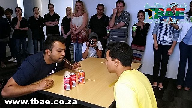 Glacier Financial Solutions Minute To Win It Team Building Cape Town