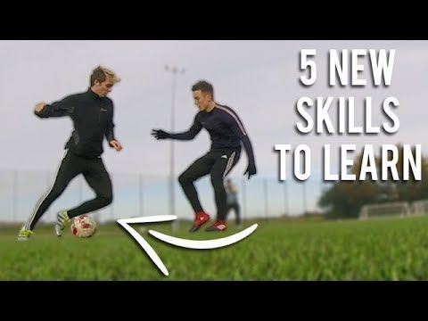 5 NEW SKILLS TO LEARN IN FOOTBALL - YouTube