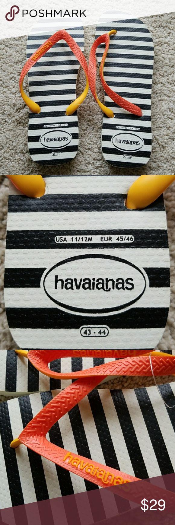 Havainas flip flops men's size 11/12 M NWOT Havaianas Shoes Sandals & Flip-Flops