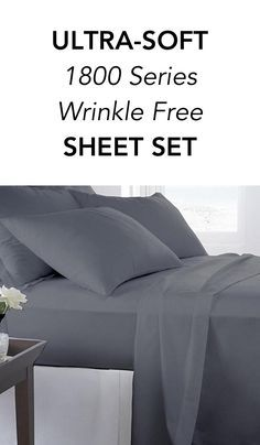 ultrasoft series wrinkle free sheet set sleep in paradise every night with