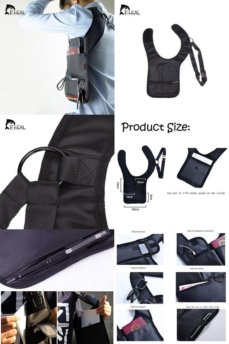 [Visit to Buy] FHEAL Anti-theft Hidden Shoulder Armpit Bag Backpack Phone Bag Wallet Tactical Bag Travel Pocket Holster Shoulder Wallet Pouch #Advertisement