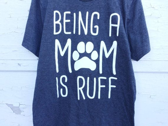 Dog Mom // Women's Graphic Tee // Hipster Graphic Tee // Crazy Dog Lady // Dog Lover