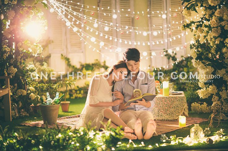 Korean Studio Pre-Wedding Photography: Fun & Lively by The Face Studio on OneThreeOneFour 2
