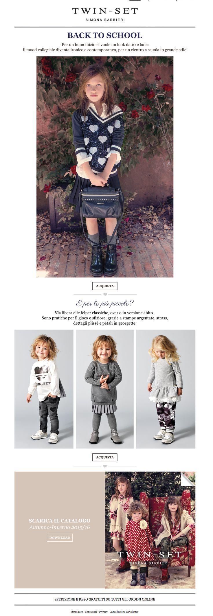 Twin-Set | Collezione Girl: pronta per il back to school?