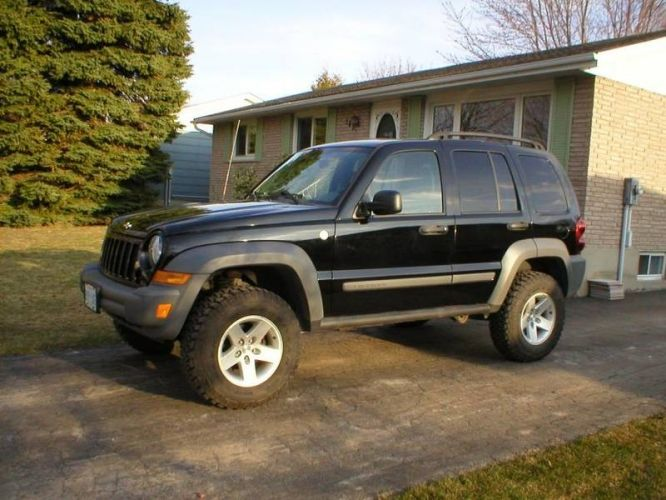 Lifted Jeep Renegade >> 2005 Jeep Liberty Lift Kit | 2005 Jeep Liberty 4X4 Lift Kit MTR's MINT! in Goderich, Ontario ...
