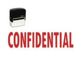 "Self-Inking #Confidential Stamp - Want to ensure that your confidential items stay that way? Get the large #Self-Inking 'Confidential' #Stamp online from Acorn Sales. This office stamp's image measures 1""x2-1/4"". Grab this stamp today!"