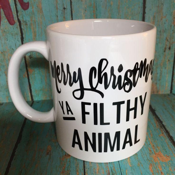 Merry Christmas Ya Filthy Animal Home Alone Mug