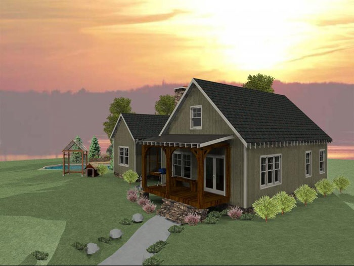 Dog Trot House Plan | Dog trot house, House and Cabin