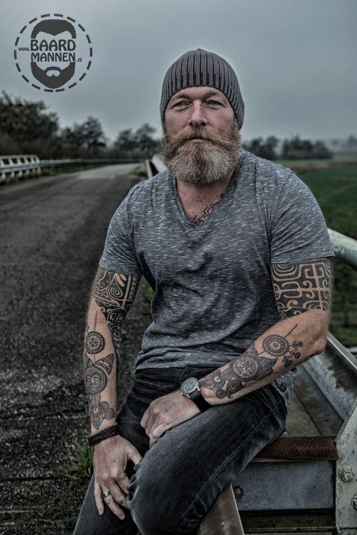 Viking men photo hubba hubba pinterest photos for Silver fox tattoo