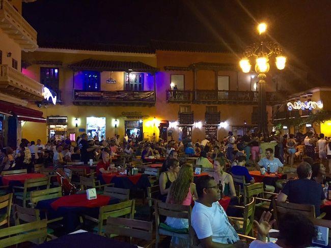 Hacer cartagena - plaza santo domingo