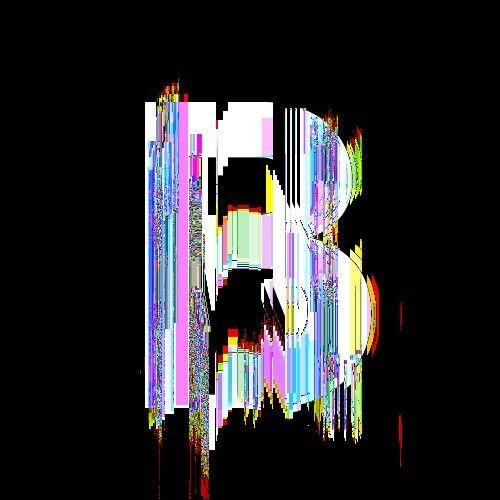 the glitch font by Bruno Capezzuoli, via Behance