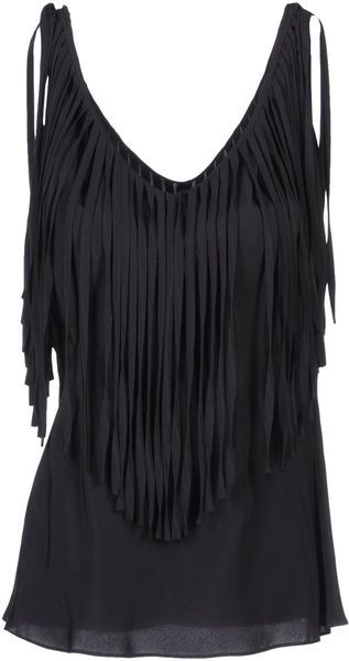 Moschino Top in Black - Lyst