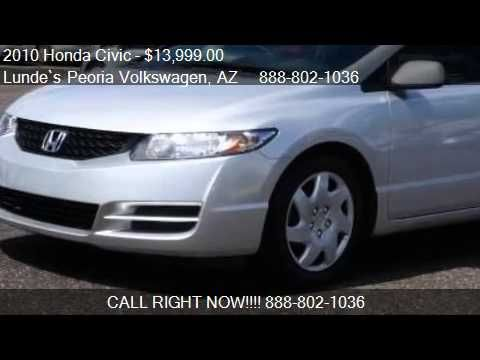 2010 Honda Civic LX 2dr Coupe 5A for sale in Peoria, AZ 8538