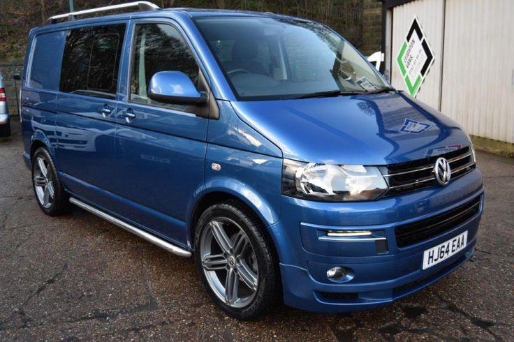 VW Transporter T30 TDI KOMBI HIGHLINE 140ps Sportline Pk, 2.0 Diesel, Manual, 21,000 miles, olympic blue, 5 doors, 1 owner at Leighton Vans for £26,995 + VAT.