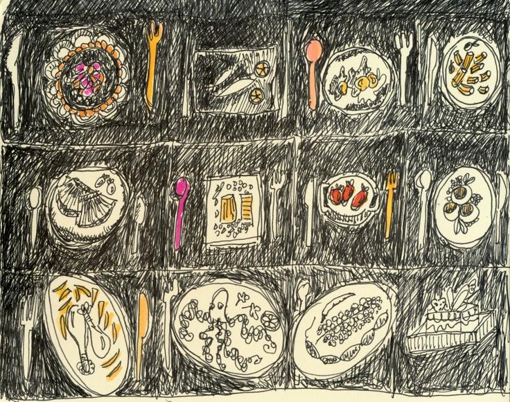 2012 sketch ink 15x10  from my molekine sketchbook
