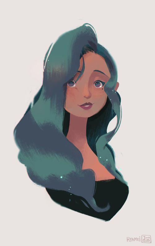 Lady by hyamei.deviantart.com on @DeviantArt