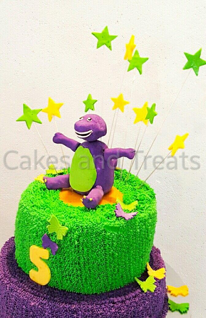 25 beste ideen over Barney birthday cake op Pinterest Paars