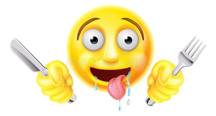 Download Emoticon Hambriento Muerto De Hambre Emoji Ilustración del Vector - Imagen: 61019308