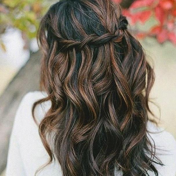 Braid Curl Wedding Hair