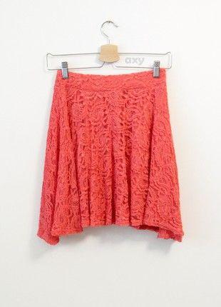 Kup mój przedmiot na #vintedpl http://www.vinted.pl/damska-odziez/spodnice-rozkloszowane/20781734-koralowa-rozkloszowana-spodniczka-mini