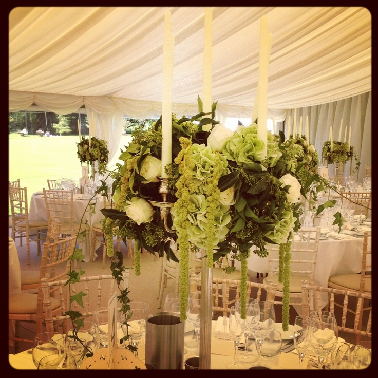 Flowers for the table centres kitten and I did for a wedding in the Cotswolds www.kittengrayson.com -she's very clever