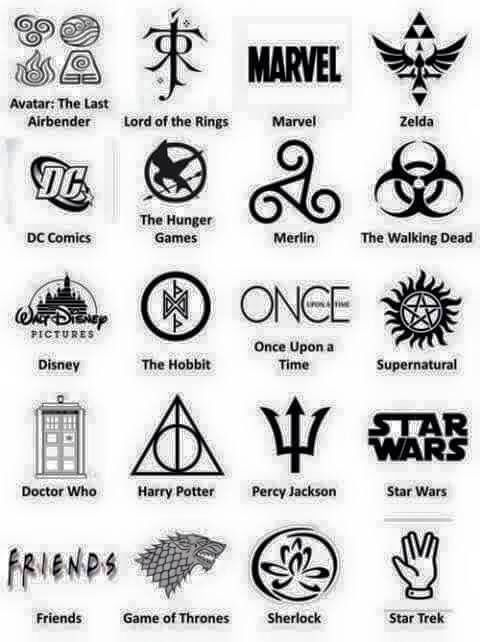 More tattoo ideas :) especially in love with Merlin, The Hobbit, and Sherlock.