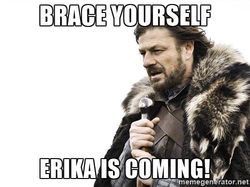 Resultado de imagem para erika meme