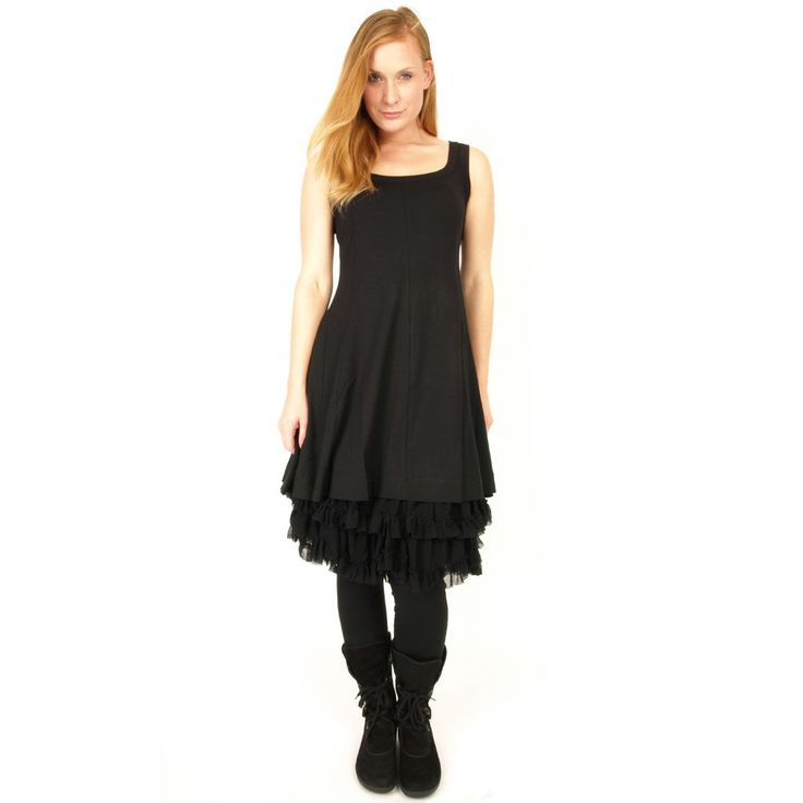 """Rimini Basic Sleeveless Tunic/ Dress-All Colors-Perfect for any occasion as it can be dressed up or down depending on your day.   Wear alone or pair with either the ribbon or plain leggings and then add a basic wrap or sheer tunic to cover shoulders and dress it up! Dress fitted through bust and then gently graces and flows to just above the knee. Available in Black, Glicine(purple)  White, Red and Bourgogne.  14/16: Bust 40""""  18/20: Bust 42.5""""  20/22: Bust 46""""  22/24: Bust 49""""  Machine wash"""