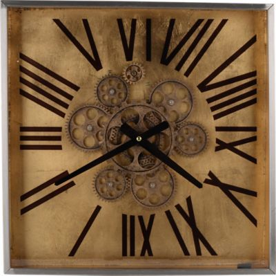 Cahan Brown Clock . $219.99. 15.75W x 15.75H. Find affordable Wall Decor for your home that will complement the rest of your furniture.