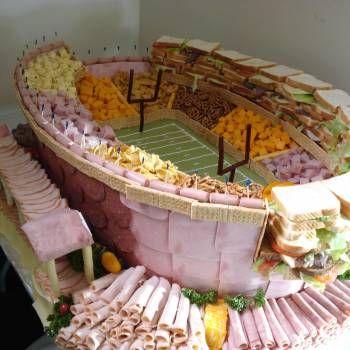 48 Epic Super Bowl Food Displays for Superbowl XLVIII