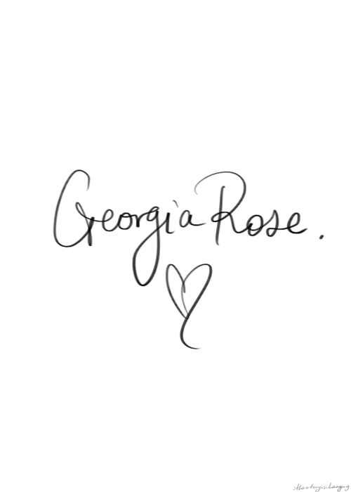 I'm so confused. I have no idea who Georgia rose is. I mean I've listened to the song. Seen the tweets. I don't understand! Will somebody please help!! #notadirectionator !!