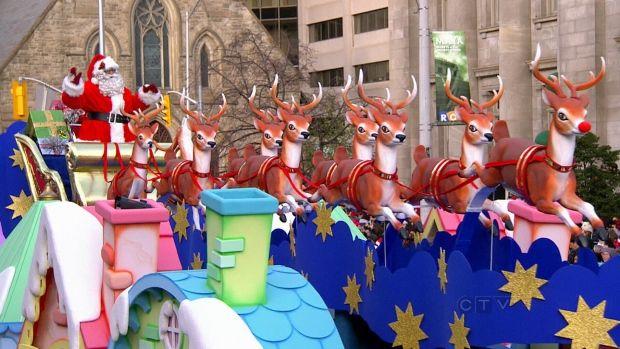 Toronto's 109th Santa Claus parade