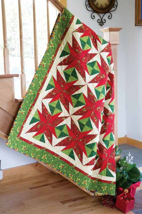 1000 Images About Christmas Quilts On Pinterest Twelve