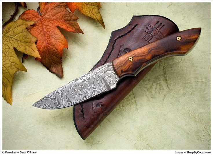 Splice with Damasteel Blade and Ironwood Handle