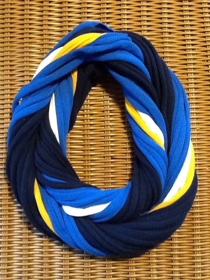 St. Louis Blues  NHL- Infinity T Shirt Scarf Belt by karinaallendraeger on Etsy https://www.etsy.com/listing/176733412/st-louis-blues-nhl-infinity-t-shirt